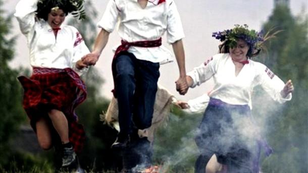 APTOPIX Belarus Midsummer Day