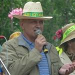 Праздник Иван Купала 2009 - председатель УНКА - Кулиш М.Н.